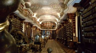 Klementinum baroque library